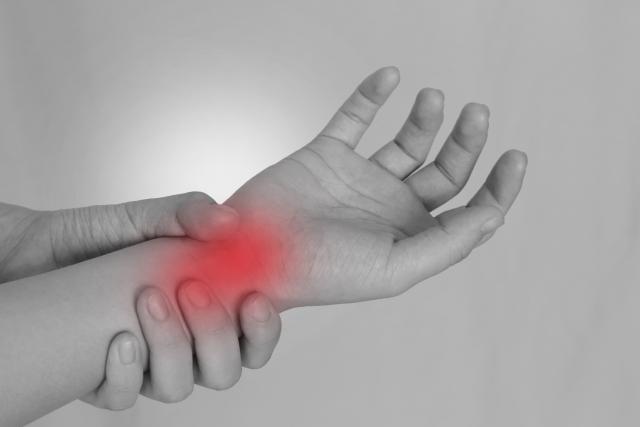 産後腱鞘炎の症状