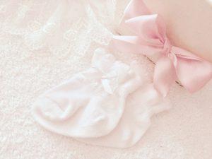 赤ちゃんの足のサイズって何センチ?