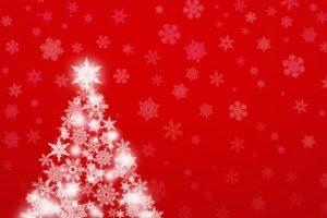 クリスマスカードで出産報告