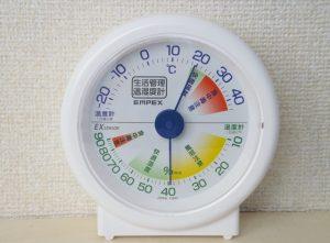 赤ちゃんの居る部屋の温度と湿度は何度?