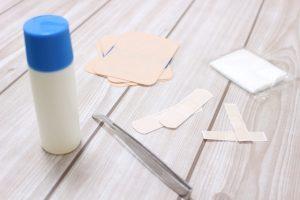 赤ちゃんのおへそを消毒する方法