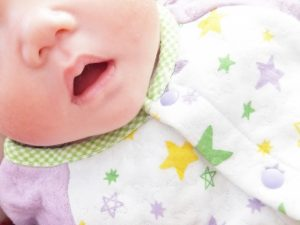 赤ちゃんの笑顔が見たい