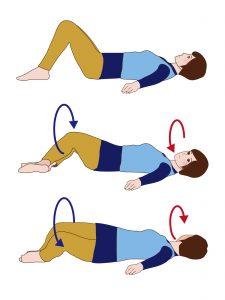 骨盤体操①のやり方