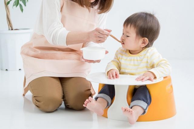 体が大きい赤ちゃんは離乳食を早めてもいい?